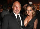 LONDON, ENGLAND - NOVEMBER 23:  Sir Philip Green (L) and Chloe Green attend a drinks reception at the British Fashion Awards in partnership with Swarovski at the London Coliseum on November 23, 2015 in London, England.   Pic Credit: Dave Benett
