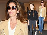 22.NOVEMBER.2015 - LOS ANGELES - USA\n** EXCLUSIVE ALL ROUND PICTURES **\n*STRICTLY AVAILABLE FOR UK AND GERMANY USE ONLY*\nSUPERMODEL CINDY CRAWFORD IS SEEN WITH HER MINI ME DAUGHTER KAIA GERBER AT LAX AIRPORT BOTH ARE LOOKING STYLISH.\nBYLINE MUST READ : XPOSUREPHOTOS.COM\n***UK CLIENTS - PICTURES CONTAINING CHILDREN PLEASE PIXELATE FACE PRIOR TO PUBLICATION ***\n*UK CLIENTS MUST CALL PRIOR TO TV OR ONLINE USAGE PLEASE TELEPHONE 0208 344 2007*