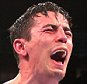 Anthony Crolla celebrates victory over Darleys Perez after the WBA World Lightweight Championship fight at Manchester Arena, Manchester on 21st November 2015