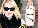 Mandatory Credit: Photo by Callahan/ACE/REX Shutterstock (5426298g)\n Emma Roberts\n Emma Roberts out and about, New York, America - 24 Nov 2015\n \n