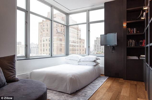 New digs: Katie is renting a new penthouse in the Chelsea neighbourhood of New York City for $25K-a-month