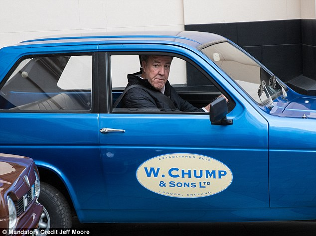 Going it alone: Clarkson was fired from Top Gear in March this year following a 'fracas' with producer Oisin Tymon over a steak dinner