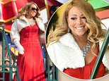 NEW YORK, NY - NOVEMBER 26:  Singer Mariah Carey attends the 89th Annual Macy's Thanksgiving Day Parade on November 26, 2015 in New York City.  (Photo by Mark Sagliocco/Getty Images)