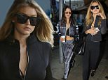 Beverly Hills, CA - Model, Gigi Hadid, looked worse for wear as she arrived back home from having a sleepover with new boyfriend, Zayn Malik.  The quick change artists soon left her worn out look at home and came out looking sporty chic to eat with her sister, Bella Hadid, and her dad, Mohamed Hadid at Il Pastaio restaurant. \nAKM-GSI          November 25, 2015\nTo License These Photos, Please Contact :\nSteve Ginsburg\n(310) 505-8447\n(323) 423-9397\nsteve@akmgsi.com\nsales@akmgsi.com\nor\nMaria Buda\n(917) 242-1505\nmbuda@akmgsi.com\nginsburgspalyinc@gmail.com