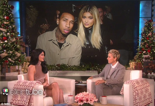 Reconciliation: Kylie and Tyga reportedly split very briefly last week just before his 26th birthday