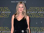 Mandatory Credit: Photo by Nils Jorgensen/REX Shutterstock (5445228o)  Donna Air  Star Wars Fashion Finds the Force, London, Britain - 26 Nov 2015  Star Wars Fashion Finds the Force event in support of Great Ormond Street Hospital Children's Charity on behalf of Force for Change, at Selfridges Old Hotel, London.