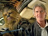 """This image released by Lucasfilm shows character Chewbacca, left, and Harrison Ford in a scene from """"Star Wars: The Force Awakens,"""" the highly anticipated film by J.J. Abrams that hits theaters Dec. 18. (Lucasfilm via AP)"""