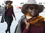 Mandatory Credit: Photo by Kristin Callahan/ACE/REX Shutterstock (5435784d)\n Lupita Nyong'o\n Lupita Nyong'o out and about, New York, America - 25 Nov 2015\n \n