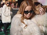 NEW YORK, NY - NOVEMBER 24:  Singer Mariah Carey arrives at the 89th Annual Macy's Thanksgiving Day Parade Rehearsals - Day 2 on November 24, 2015 in New York City.  (Photo by Mike Coppola/Getty Images)