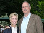 Mandatory Credit: Photo by Tim Rooke/REX Shutterstock (420946ct)  JOHN CLEESE AND HIS WIFE ALYCE FAYE CLEESE  DAVID FROST PARTY, LONDON, BRITAIN - 03 JUL 2003