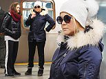 EXCLUSIVE: Amy Schumer and sister Kim Caramele take the subway home, after being spotted with Jennifer Lawrence in Tribeca  Pictured: Amy Schumer Ref: SPL1184108  241115   EXCLUSIVE Picture by: JosiahW / Blayze / Splash News  Splash News and Pictures Los Angeles: 310-821-2666 New York: 212-619-2666 London: 870-934-2666 photodesk@splashnews.com