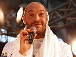 Boxing - Tyson Fury Public Work-Out - Dusseldorf Airport, Dusseldorf, Germany - 25/11/15  Tyson Fury during his work out  Action Images via Reuters / Lee Smith  Livepic
