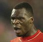 Nov 26th 2015 - Liverpool, UK - LIVERPOOL V BORDEAUX  - Liverpool  Benteke goal against Bordeaux 2-1 PIcture by Ian Hodgson/Daily Mail