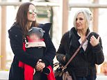 Mandatory Credit: Photo by Startraks Photo/REX Shutterstock (5445243n)  Keira Knightley, daughter Edie Knightley and mother Sharman MacDonald  Keira Knightley out and about, New York, America - 26 Nov 2015  Keira Knightley out with Daughter Edie and Mother Sharman Macdonald