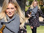 November 26, 2015: Hilary Duff, Luca Comrie off to celebrate Thanksgiving at Hilary's mom's house, Los Angeles, CA.\nMandatory Credit: Lek/INFphoto.com Ref.: infusla-294
