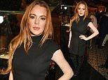 LONDON, ENGLAND - NOVEMBER 25:  Lindsay Lohan attends an after party following the screening of La Legende de La Palme d'Or at China Tang on November 25, 2015 in London, England.  (Photo by David M. Benett/Dave Benett/Getty Images for Chopard)