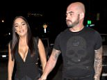 'Shahs of Sunset' star, Jessica Parido steps out hand in hand with her new beau just days after publicly announcing that she has left her husband Mike Shouhed. Jessica and her new man were seen at West Hollywoods popular eatery 'Craigs' Restaurant in West Hollywood, CA  Pictured: Jessica Parido Ref: SPL1183438  251115   Picture by: SPW / Splash News  Splash News and Pictures Los Angeles: 310-821-2666 New York: 212-619-2666 London: 870-934-2666 photodesk@splashnews.com