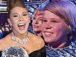"""DANCING WITH THE STARS - """"Episode 2111A"""" - Bindi Irwin and Derek Hough were crowned Season 21 champions during the two-hour season finale of """"Dancing with the Stars,"""" TUESDAY, NOVEMBER 24 (9:00-11:00 p.m., ET), on ABC. (Photo by Adam Taylor/ABC via Getty Images)"""