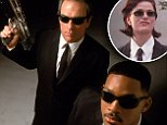 No Merchandising. Editorial Use Only. No Book Cover Usage.. Mandatory Credit: Photo by Everett/REX Shutterstock (2067766a).. MEN IN BLACK, Tommy Lee Jones, Will Smith, 1997.. MEN IN BLACK, Tommy Lee Jones, Will Smith, 1997.. ..