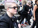 Style guru Kelly Osbourne arriving at her hotel in Sydney. MUST CREDIT