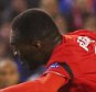 LIVERPOOL, ENGLAND - NOVEMBER 26:  Christian Benteke of Liverpool shoots past Henri Saivet of Bordeaux as he scores their second goal during the UEFA Europa League Group B match between Liverpool FC and FC Girondins de Bordeaux at Anfield on November 26, 2015 in Liverpool, United Kingdom.  (Photo by Alex Livesey/Getty Images)