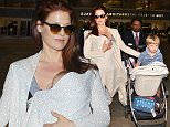 25.NOVEMBER.2015 - LOS ANGELES - UK\n*STRICTLY AVAILABLE FOR UK AND GERMANY USE ONLY*\nALI LARTER ARRIVES AT LOS ANGELES INTERNATIONAL AIRPORT ( LAX ) WITH HER SON THEODORE HAYES MACARTHUR AND BABY DAUGHTER VIVIENNE MARGARET MCARTHUR IN TIME FOR THE THANKSGIVING  FAMILY HOLIDAY IN L.A.\nBYLINE MUST READ : XPOSUREPHOTOS.COM\n***UK CLIENTS - PICTURES CONTAINING CHILDREN PLEASE PIXELATE FACE PRIOR TO PUBLICATION ***\n*UK CLIENTS MUST CALL PRIOR TO TV OR ONLINE USAGE PLEASE TELEPHONE 0208 344 2007*