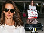 26 Nov 2015 - LOS ANGELES - USA  ALESSANDRA AMBROSIO AT LAX   BYLINE MUST READ : XPOSUREPHOTOS.COM  ***UK CLIENTS - PICTURES CONTAINING CHILDREN PLEASE PIXELATE FACE PRIOR TO PUBLICATION ***  **UK CLIENTS MUST CALL PRIOR TO TV OR ONLINE USAGE PLEASE TELEPHONE  44 208 344 2007 ***