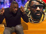 **STRICTLY EMBARGOED UNTIL 00.01 FRIDAY 27TH NOVEMBER 2015** Editorial Use Only. No Merchandising\n Mandatory Credit: Photo by Brian J Ritchie/REX Shutterstock (5440541bw)\n Idris Elba\n 'The Jonathan Ross Show', London, Britain - 28 Nov 2015\n \n