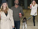 EXCLUSIVE TO INF.\nNovember 23, 2015: Kate Upton & Boyfriend Justin Verlander arrive at the Chicago O'Hare International Airport with her dog Harley ahead of Thanksgiving holiday.\nMandatory Credit: Kamil Krzaczynski/INFphoto.com  Ref: infusci-07
