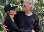 EXCLUSIVE: Lisa Rinna was spotted with husband out for a hike on thanksgiving in Beverly Hills, LA.  Pictured: Lisa Rinna, Harry Hamlin Ref: SPL1166484  271115   EXCLUSIVE Picture by: PAT / Splash News  Splash News and Pictures Los Angeles: 310-821-2666 New York: 212-619-2666 London: 870-934-2666 photodesk@splashnews.com