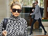 Picture Shows: Gigi Hadid  November 25, 2015    Model Gigi Hadid is seen heading to her father's house for Thanksgiving in Los Angeles, California.     Gigi could be seen leaving her apartment before heading to her dad's house.     Exclusive - All Round  UK Rights Only    Pictures by : FameFlynet UK © 2015  Tel : +44 (0)20 3551 5049  Email : info@fameflynet.uk.com