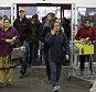 SKOKIE, IL - NOVEMBER 27: Shoppers enter a Best Buy on November 27, 2015 in Skokie, Illinois. Many retail business across the country offer deep discounts to consumers on Black Friday, the day after Thanksgiving, which starts the holiday shopping season. (Photo by Joshua Lott/Getty Images)