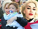 Picture Shows: Gwen Stefani, Apollo Rossdale  November 27, 2015\\n \\n Singer and busy mom Gwen Stefani is spotted at Toontown in Disneyland with her family in Los Angeles, California. Gwen looked happy and rocker her signature red lipstick.\\n \\n Non Exclusive\\n UK RIGHTS ONLY\\n \\n Pictures by : FameFlynet UK © 2015\\n Tel : +44 (0)20 3551 5049\\n Email : info@fameflynet.uk.com