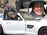EXCLUSIVE ALL ROUND PICTURE: MATRIXPICTURES.CO.UK\nPLEASE CREDIT ALL USES\nWORLD RIGHTS\nGame of Thrones star Tamer Hassan has just taken delivery of a new Mercedes AMG GTs.\nThe much sort after £150,000 supercar was delivered to Tamer by Andrew Morgan from Mercedes VIP and it is rumoured that even Jeremy Clarkson can't get his hands on one.\nTamer obviously can't hide his delight as he pulls up at the Berkeley Hotel in London's Knightsbridge with his son Taser. Tamer and Taser are seen admiring the car and taking it for a spin around the block with huge smiles on their faces.\nTamer, who stared in blockbusters The Business, Dead Man Running Freerunner and TV series 24 Live Another Day, has just finished filming for Game of Thrones and is about to begin filming The Promise alongside Christian Bale in Spain.\nNOVEMBER 26th 2015\nREF: MTX 153536