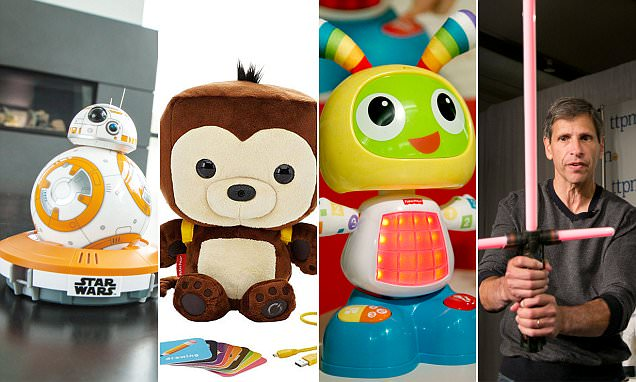 Star Wars toys and robots are Christmas 2015's most-wanted gifts