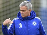 Chelsea FC via Press Association Images MINIMUM FEE 40GBP PER IMAGE - CONTACT PRESS ASSOCIATION IMAGES FOR FURTHER INFORMATION. Chelsea's Jose Mourinho during a training session at the Cobham Training Ground on 27th November 2015 in Cobham, England.