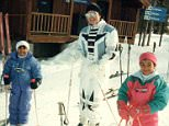 krisjenner#FBF family ski trip to Vail @kourtneykardash and @kimkardashian!! #memories #family #soblessed ?????