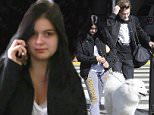 """Ariel Winter ducks her way through LAX wearing a ring on her left hand as she travels with boyfriend Laurent Gaudette amidst rumors the two are getting married.  The """"Modern Family"""" star was seen at LAX with her adorable dog \n\nPictured: Ariel Winter, Laurent Gaudette\nRef: SPL1185267  291115  \nPicture by: Sharky / Splash News\n\nSplash News and Pictures\nLos Angeles: 310-821-2666\nNew York: 212-619-2666\nLondon: 870-934-2666\nphotodesk@splashnews.com\n"""