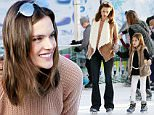 Picture Shows: Alessandra Ambrosio, Anja Mazur  November 29, 2015\n \n Model and busy mom Alessandra Ambrosio goes ice skating with her husband Jamie Mazur and their kids in Santa Monica, CA. Alessandra looked stylish for her family outing wearing a shearling jacket and flared jeans.\n \n Exclusive All Rounder\n UK Rights Only\n \n Pictures by : FameFlynet UK © 2015\n Tel : +44 (0)20 3551 5049\n Email : info@fameflynet.uk.com
