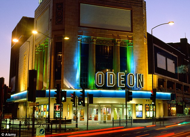 Britain's biggest cinema chain: Odeon has courted controversy over its airline-style pricing for seats, with 'premium seats' close to the screen priced considerably higher than those only two or three rows back