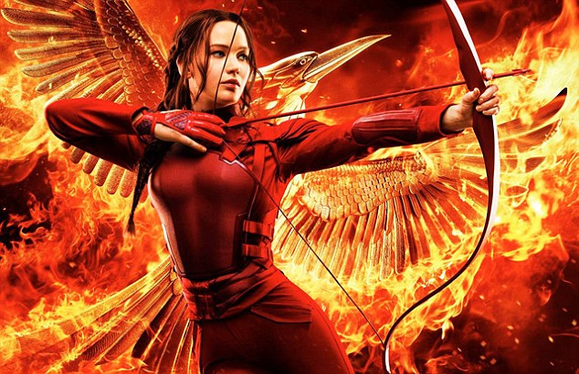 Arrow: In Hunger Games: Mockingjay – Part 2 (12A), the film's heroine, played by Jennifer Lawrence, is leading her fellow soldiers when they are suddenly set upon by scores of terrifying, eyeless mutants