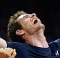 GHENT, BELGIUM - NOVEMBER 29:  Andy Murray of Great Britain celebrates with his team-mates after winning his match to win the Davis Cup for Great Britain  during day three of the Davis Cup Final match between Belgium and Great Britain at Flanders Expo on November 29, 2015 in Ghent, Belgium.  (Photo by Jordan Mansfield/Getty Images for LTA)