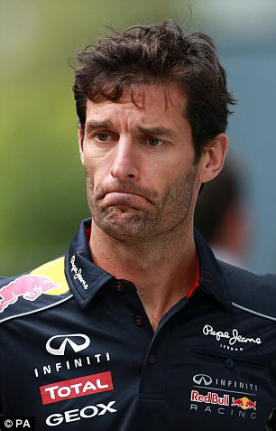 Webber wants to see a reduction in grid penalites