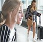 """EXCLUSIVE Australian actor Margot Robbie flying out of Brisbane Airport this morning after attending a Christmas\nparty in Brisbane last night. Reports say she was """"crying on the phone, and yelling with the person on the call"""".\nNovember 22, 2015. MUST CREDIT TOM DELANEY / DIIMEX.COM"""