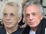 EDITORIAL USE ONLY. NO MERCHANDISING  Mandatory Credit: Photo by Ken McKay/ITV/REX Shutterstock (5464884ax)  Peter Stringfellow has his hair cut for Text Santa by Nicky Clarke  'Loose Women' TV Programme, London, Britain - 01 Dec 2015