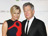 UK CLIENTS MUST CREDIT: AKM-GSI ONLY..New York, NY - Tommy Hilfiger and Dee Ocieppo at the Global Lyme Alliance's Uniting for a Lyme-Free World Gala at Cipriani 42nd Street in NYC.....Pictured: Lyme-Free World Gala..Ref: SPL1147982  081015  ..Picture by: AKM-GSI / Splash News....