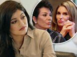 """Though the Kardashians and Jenners happily came together for Thanksgiving ¿ as evidenced by their star-studded family photo ¿ their gatherings weren't always so cordial. \n\nA preview of Sunday's Keeping Up with the Kardashians episode shows Kylie Jenner nervous about celebrating her birthday (she turned 18 in August) by dining with parents Kris and Caitlyn Jenner. \n\n""""Between you and Caitlyn, it's just weird,"""" Kylie tells her mom, who struggled with the Olympian's transition from male to female after their divorce. \n\nNevertheless, both parents join Kylie and her sisters for the meal ¿ though Caitlyn, 66, is tardy. \n\n\n\n""""Bruce was never late,"""" Kim Kardashian West says. \n\n""""She was probably working on her look,"""" adds Kris, 60. \n\n""""It's a woman's prerogative to be a little late,"""" Caitlyn, 66, shoots back, as everyone looks around nervously and Kris orders another drink. \n\nSpoiler alert: Despite the tension, Caitlyn and Kris make peace at the dinner and take a selfie. Photograp"""