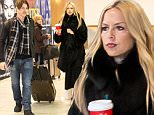 UK CLIENTS MUST CREDIT: AKM-GSI ONLY\nEXCLUSIVE: Los Angeles, CA - Rachel Zoe and her husband Rodger Berman were seen grabbing Starbucks coffee before boarding a flight out of LAX.\n\nPictured: Rachel Zoe and Rodger Berman\nRef: SPL1187125  301115   EXCLUSIVE\nPicture by: AKM-GSI / Splash News\n\n