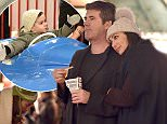 EXCLUSIVE ALL ROUNDER ***MINIMUM FEE £500 PER PAPER APPLIES*** Simon Cowell is seen at London's Winter Wonderland with partner Lauren Silverman and their son Eric 30 November 2015. Please byline: Vantagenews.com UK clients should be aware children's faces may need pixelating.