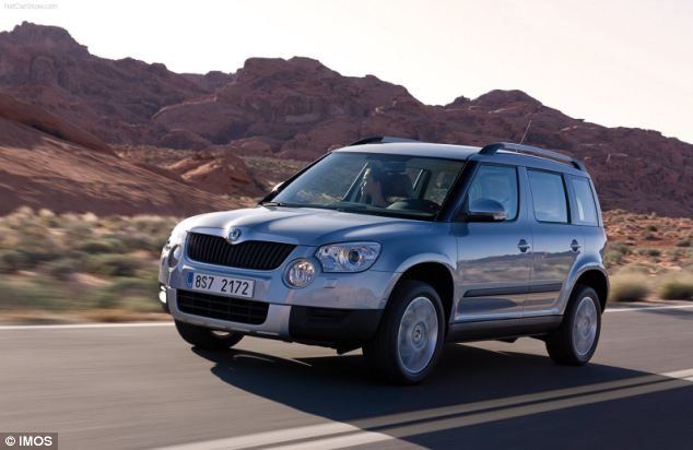 The Skoda Yeti (pictured) has come top in a national satisfaction survey, while two other Skoda models also made the top ten